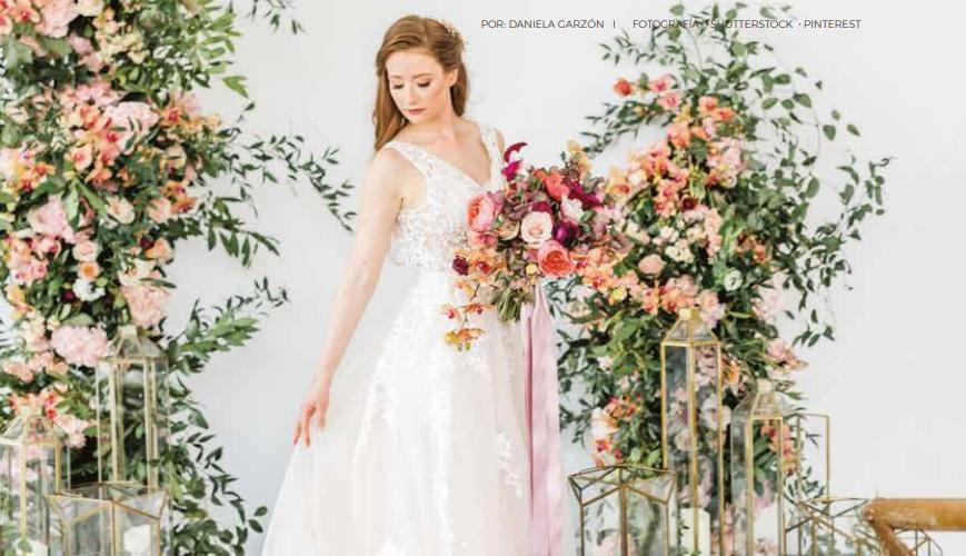 Los colores en tu boda